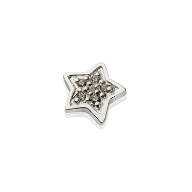 Storie Silver Star Charm  - Click to view larger image