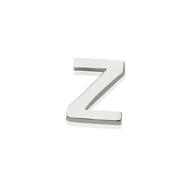 Storie Silver Letter Z Charm  - Click to view larger image