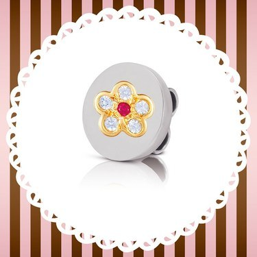 Nomination My Bonbons Flower Charm 1