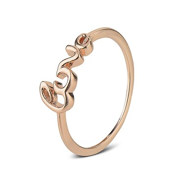 August Woods Outlet  Rose Gold Love Midi Ring