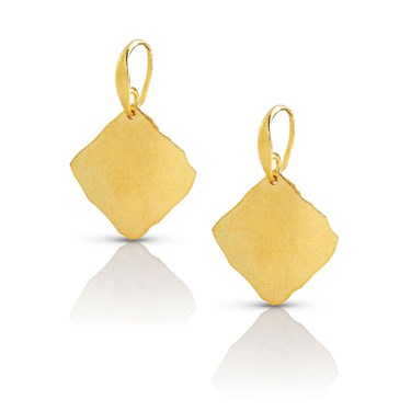 Nomination Ninfea Gold Drop Earrings  - Click to view larger image
