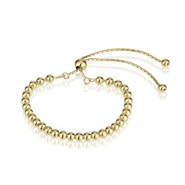 Argento Gold Beaded Bracelet