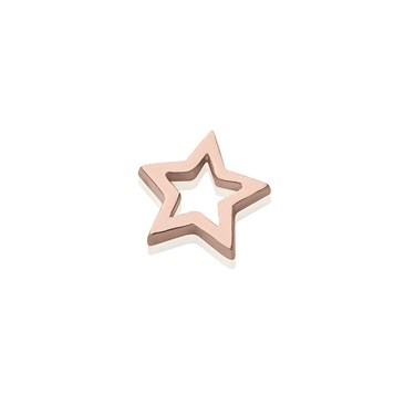 Storie Rose Gold Star Charm  - Click to view larger image