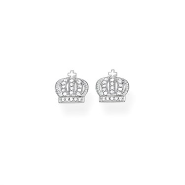 Thomas Sabo Silver Crown Stud Earrings   - Click to view larger image