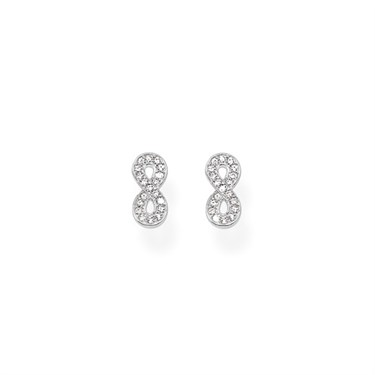 Thomas Sabo Silver Infinity of Love Stud Earrings  - Click to view larger image
