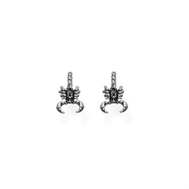Thomas Sabo Silver Scorpio Stud Earrings   - Click to view larger image