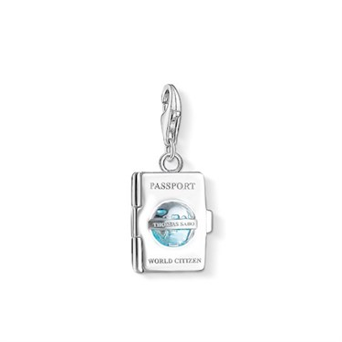 Thomas Sabo Passport Charm  - Click to view larger image