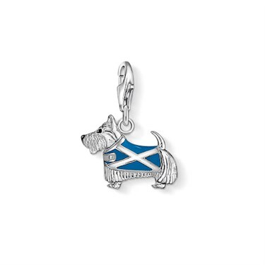 Thomas Sabo Scotty Dog Charm  - Click to view larger image