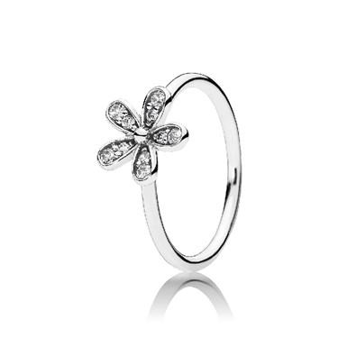 PANDORA Dazzling Daisy Ring  - Click to view larger image