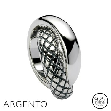 Argento Circle Necklace Charm