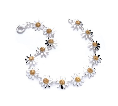 Daisy London Vintage 14mm Daisy Bracelet   - Click to view larger image