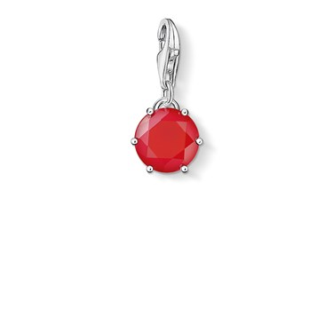 Thomas Sabo July Charm Pendant  - Click to view larger image