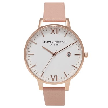 Olivia Burton Timeless Dusty Pink & Rose Gold Watch  - Click to view larger image