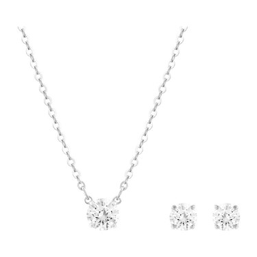 Swarovski Attract Round Gift Set  - Click to view larger image