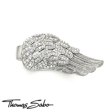 Thomas Sabo Ring With Feather Wing