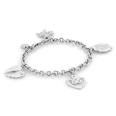 Nomination PARADISO Angel Heart and Wings Bracelet