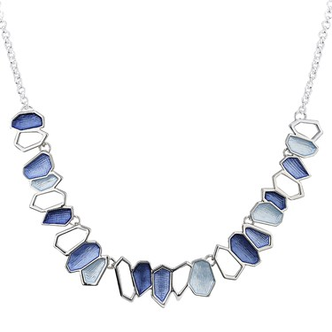 August Woods Outlet  Blue Garden Path Necklace