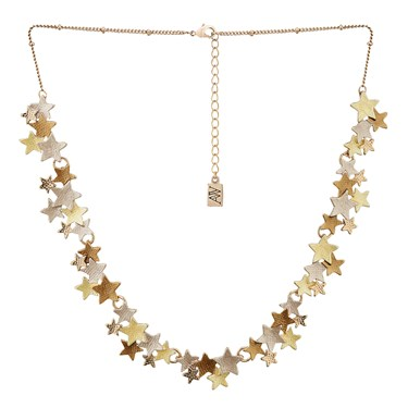 August Woods Rose Gold Trio Star Necklace