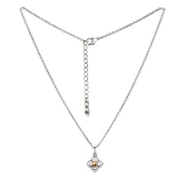 Karma Silver Topaz November Birthstone Necklace