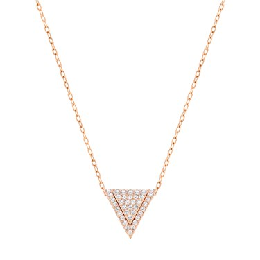 Swarovski Delta Rose Gold Pendant  - Click to view larger image