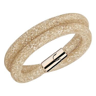 Swarovski Stardust Deluxe Bronze Bracelet   - Click to view larger image
