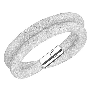 Swarovski Stardust Deluxe Silver Bracelet   - Click to view larger image