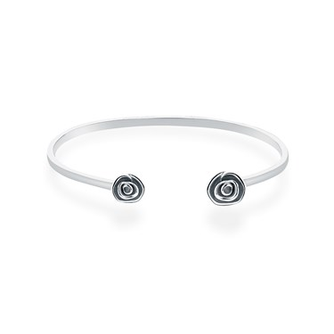 Argento Delicate Rose Bangle