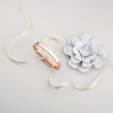 August Woods Rose Gold Bangle  - Click to view larger image