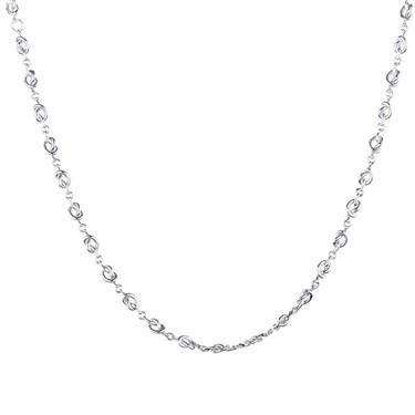 Argento Silver Knots Necklace