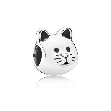 Pandora Curious Cat Charm  - Click to view larger image