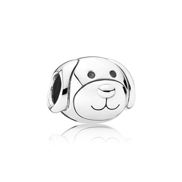 Pandora Devoted Dog Charm  - Click to view larger image