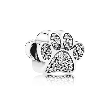 PANDORA Paw Prints Charm   - Click to view larger image