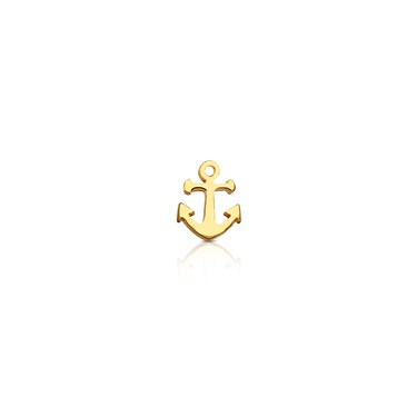 Storie Gold Anchor Charm