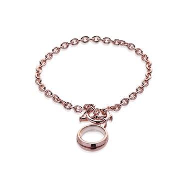 Storie Rose Gold T-bar Bracelet Carrier