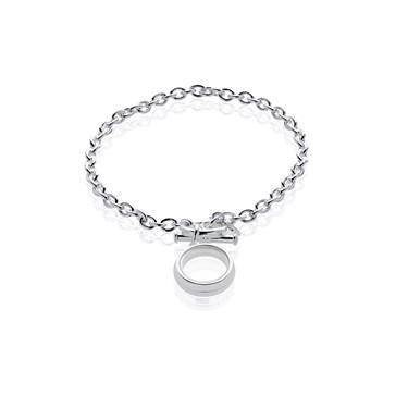 Storie Silver T-bar Bracelet Carrier