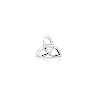 Storie Silver Irish Trinity Charm  - Click to view larger image