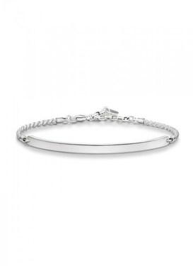 Thomas Sabo Plain Silver Bracelet  - Click to view larger image