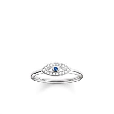 Thomas Sabo Silver Nazar's Eye Ring