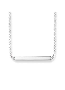 Thomas Sabo Silver Bar Necklace  - Click to view larger image
