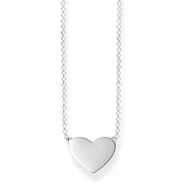 Thomas sabo silver heart necklace argento thomas sabo silver heart necklace click to view larger image aloadofball Gallery