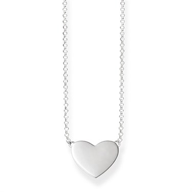Thomas sabo silver heart necklace argento thomas sabo silver heart necklace click to view larger image aloadofball