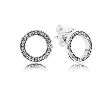 Pandora Forever PANDORA Stud Earrings  - Click to view larger image