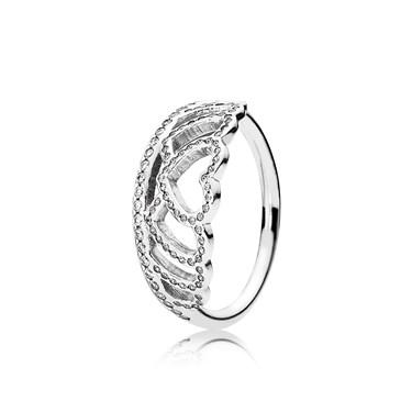 Pandora Hearts Tiara Ring  - Click to view larger image