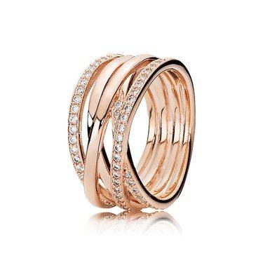 Pandora Rose Entwine Ring  - Click to view larger image
