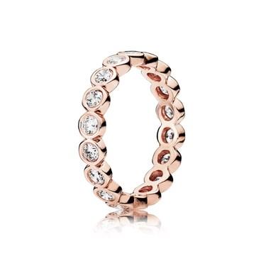 Pandora Rose Sparkling Ring
