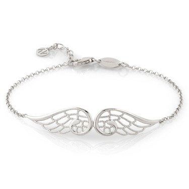 Nomination Angel Silver Double Wing Bracelet