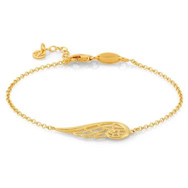Nomination Angel Gold Single Wing Bracelet
