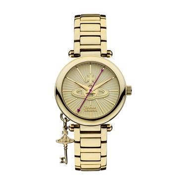 Vivienne Westwood Gold Kensington Watch  - Click to view larger image