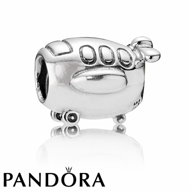 Pandora Aeroplane Charm  - Click to view larger image