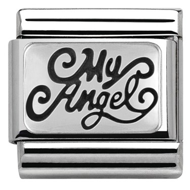Nomination Silver My Angel Charm